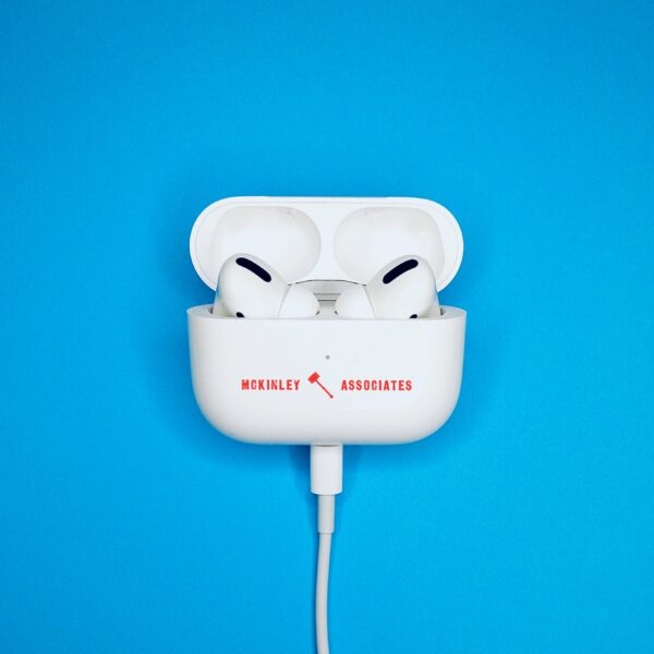 custom apple airpods pro place your company logo on one of the most popular consumer products